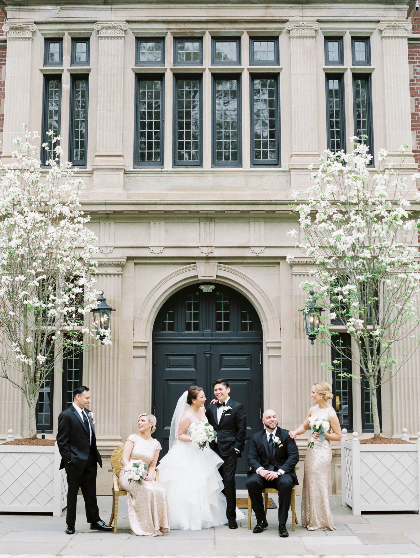 Vanity Fair Style Bridal Party Photo at Natirar Mansion in Gladstone, NJ by Michelle Lange Photography-37.jpg