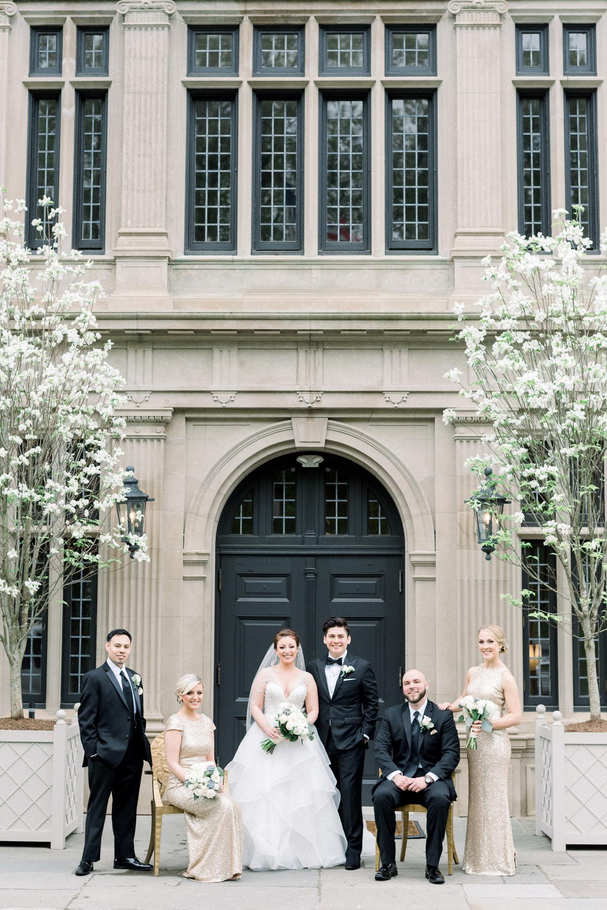 Vanity Fair Style Bridal Portrait at Natirar in Gladstone, NJ