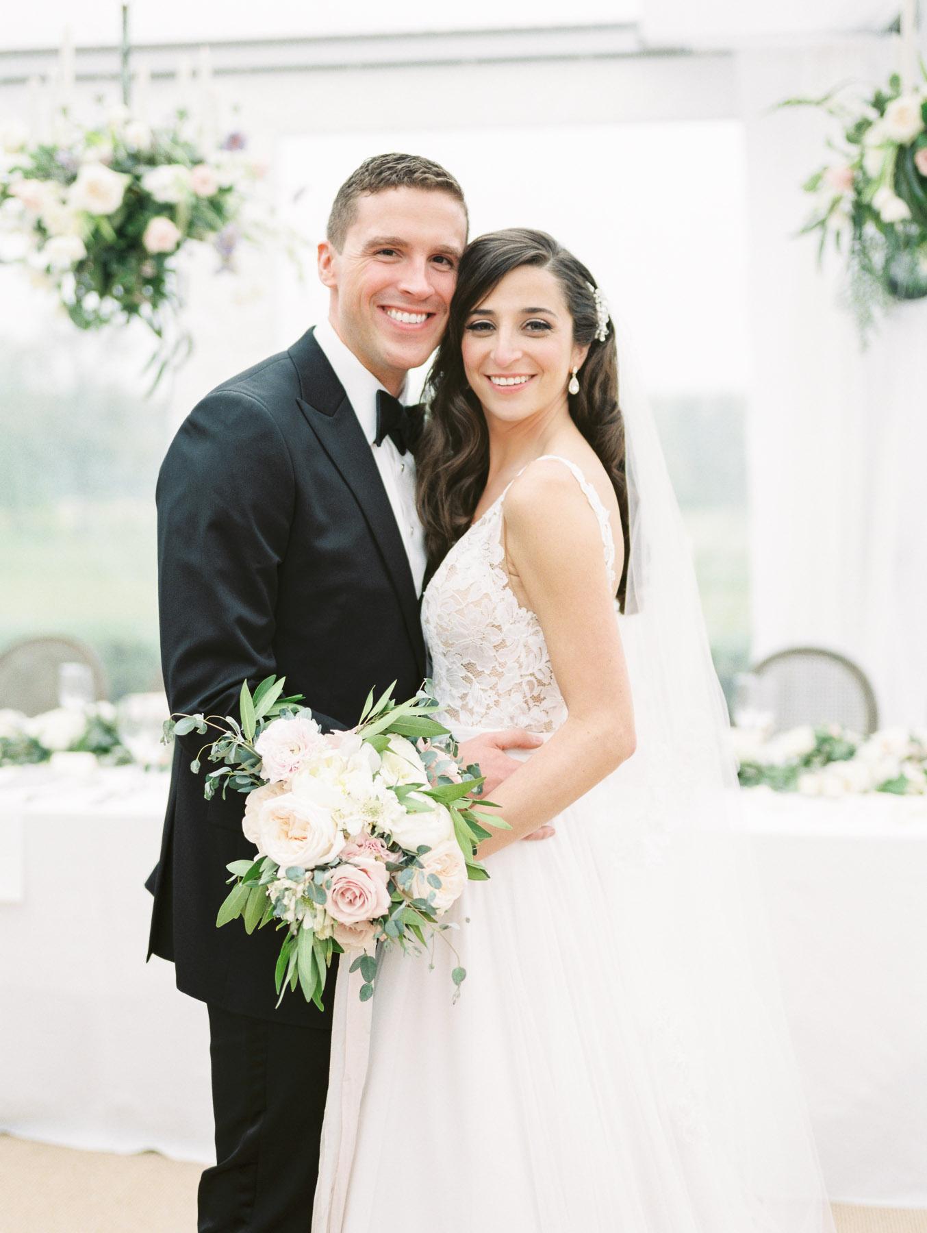Saratoga National Wedding Portrait
