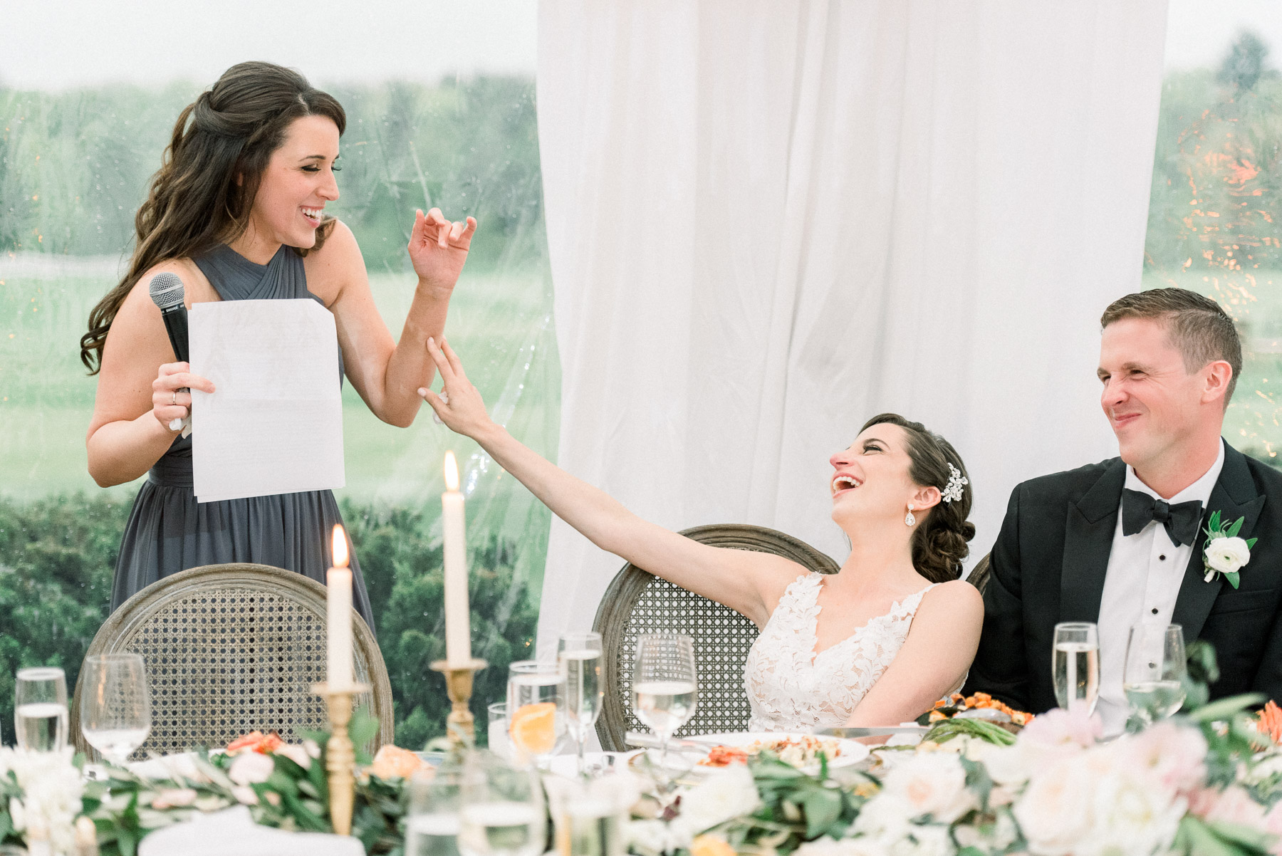 Laughter During Speeches