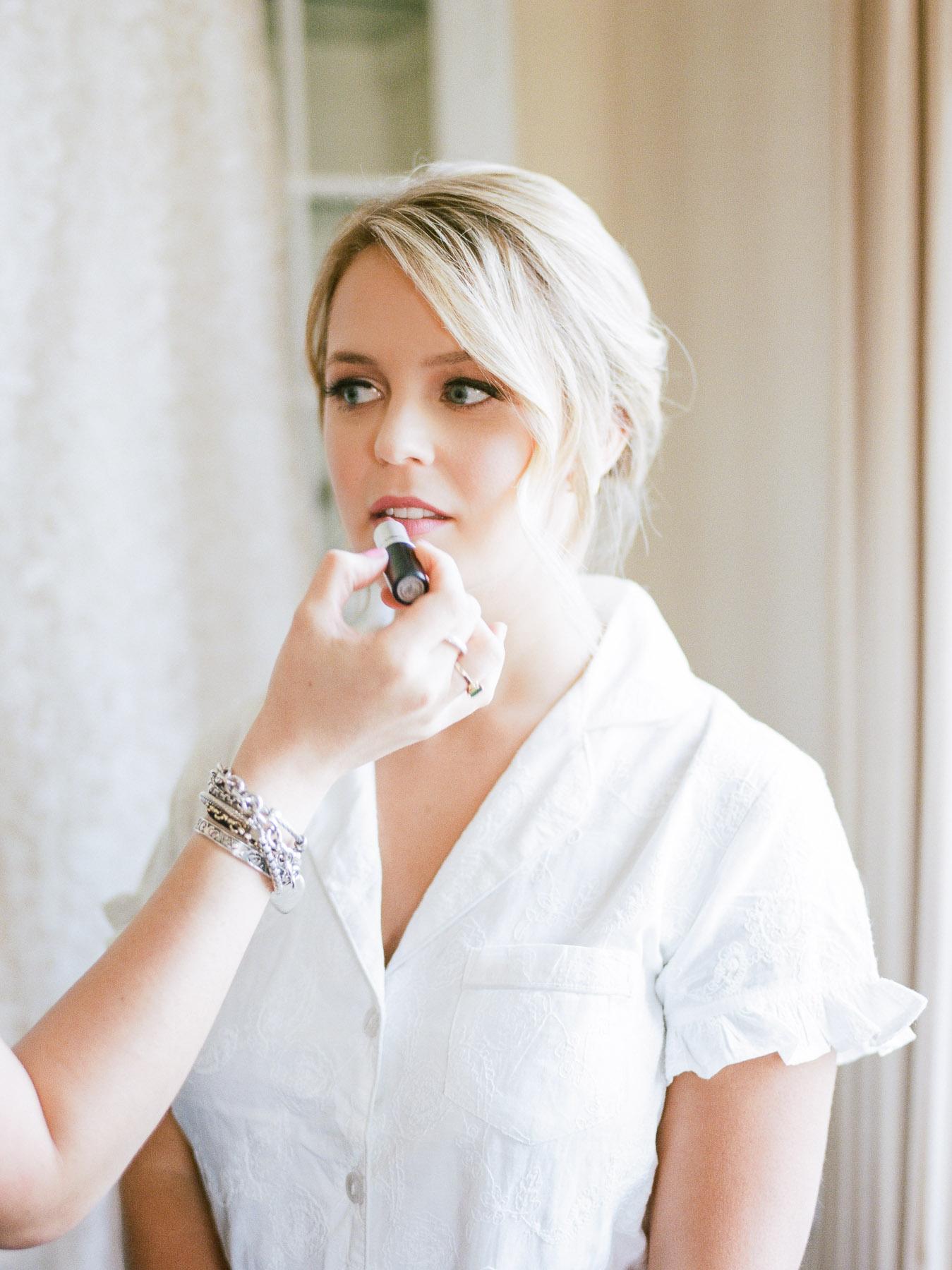 Bride Lipstick Photo