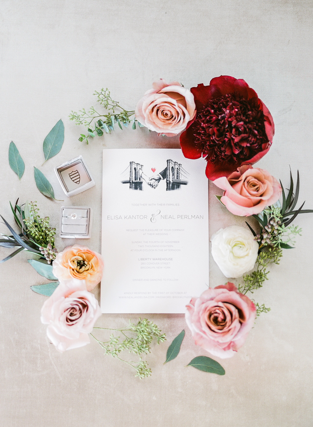Simple Invitation Suite Styling