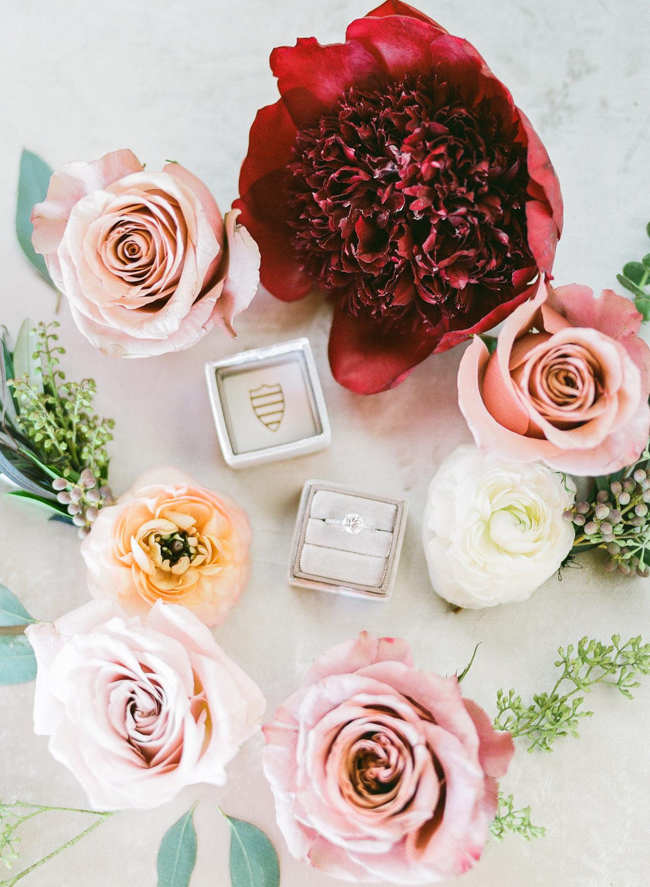 The Mrs. Box Ring Styling at Brooklyn Wedding