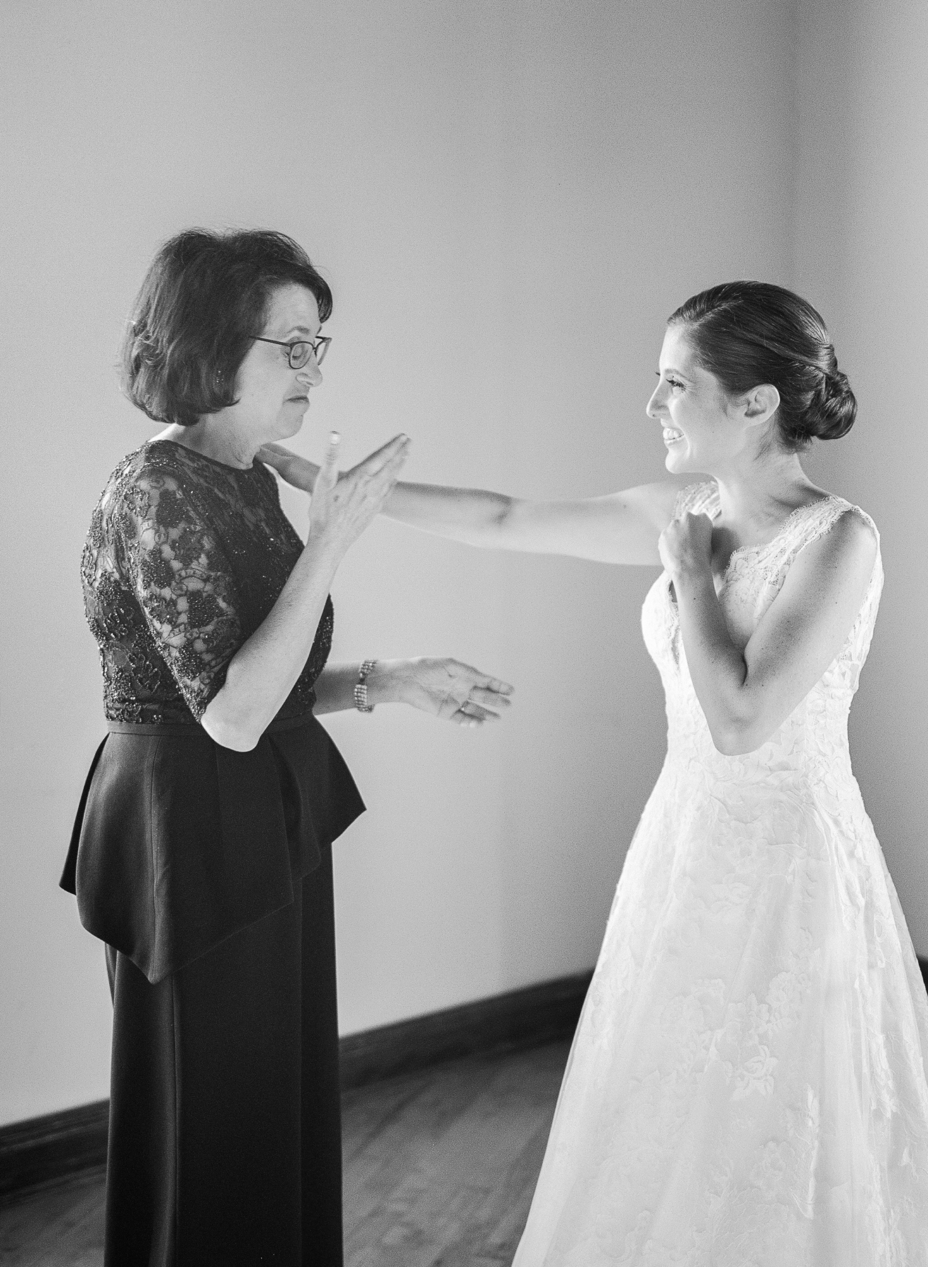 Mother of the Bride Reaction on Wedding Day