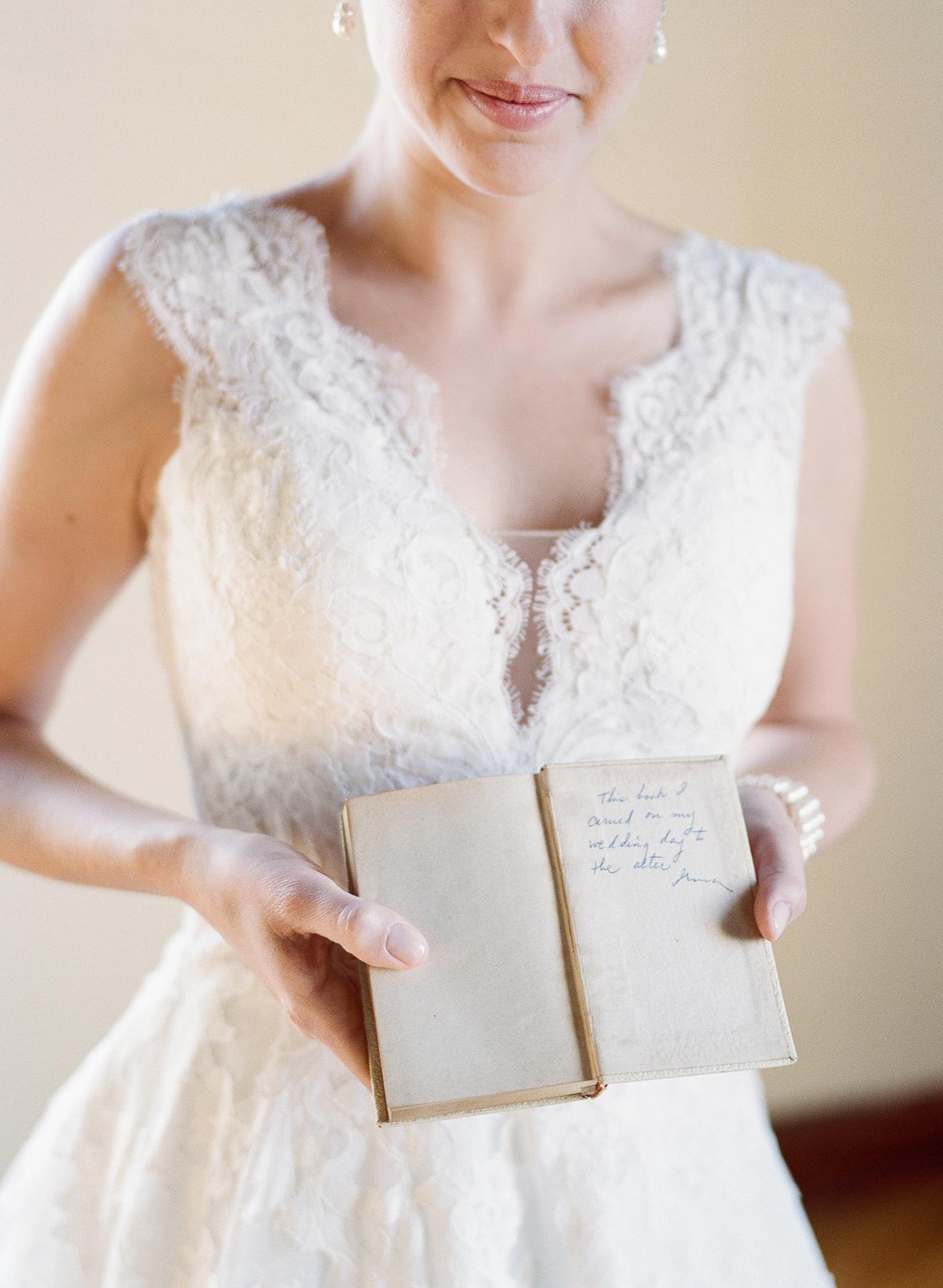 Bride's Grandmother's Prayer Book