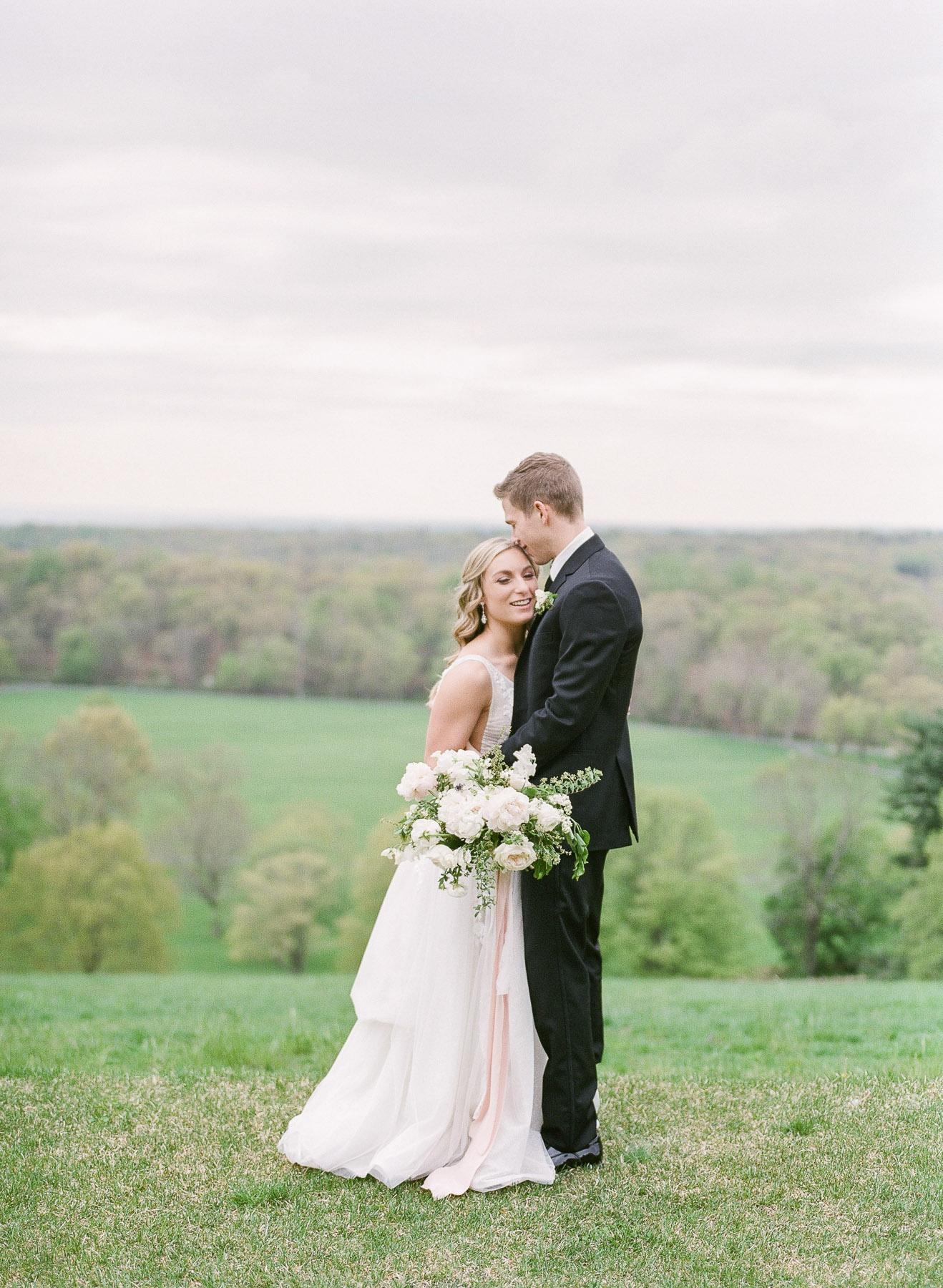 Hilltop wedding in NJ