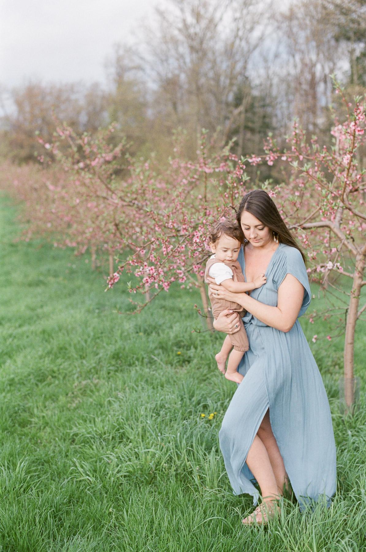 Peach Blossom Family Photos