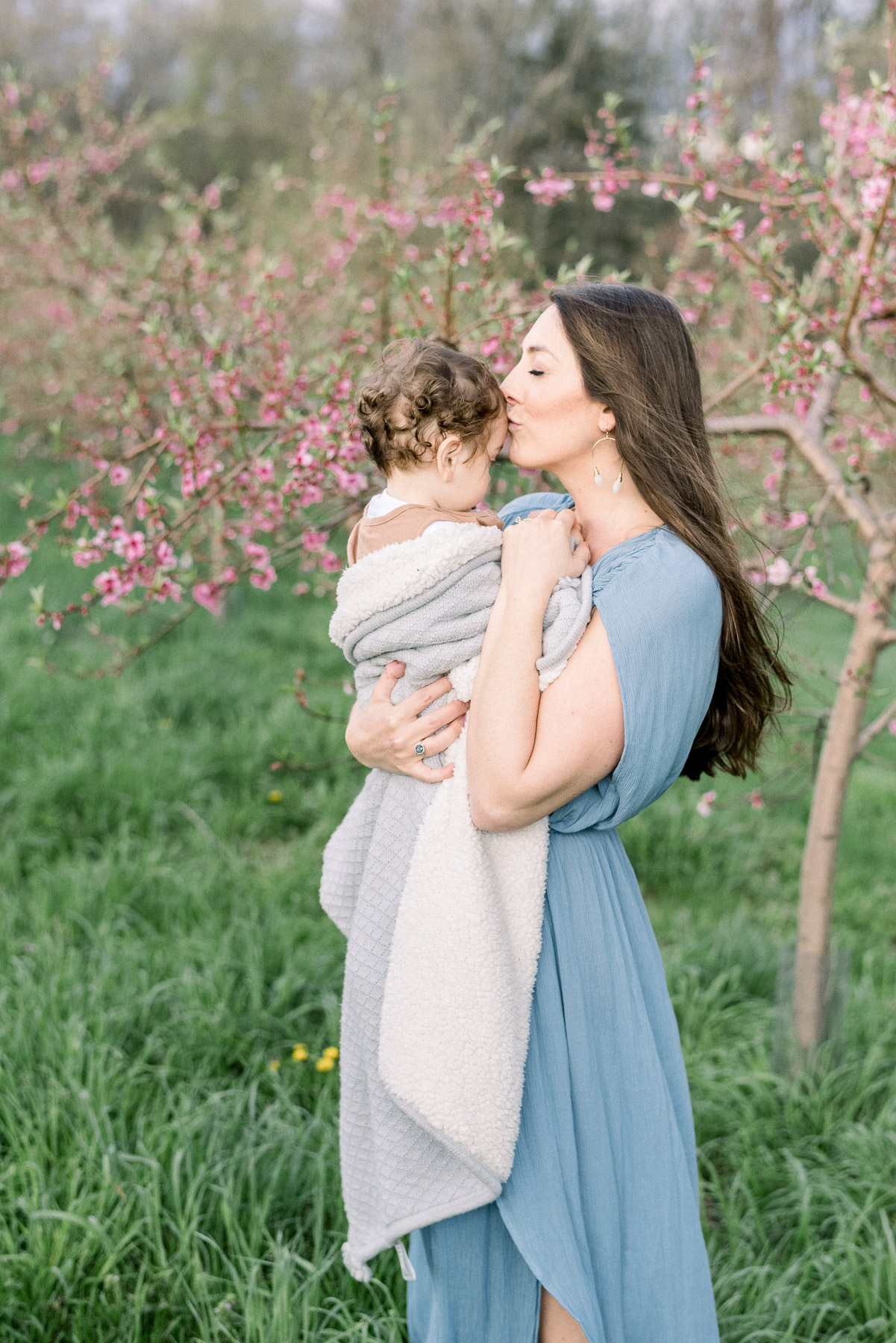 Gorgeous Mother and Baby Portrait in Westchester NY