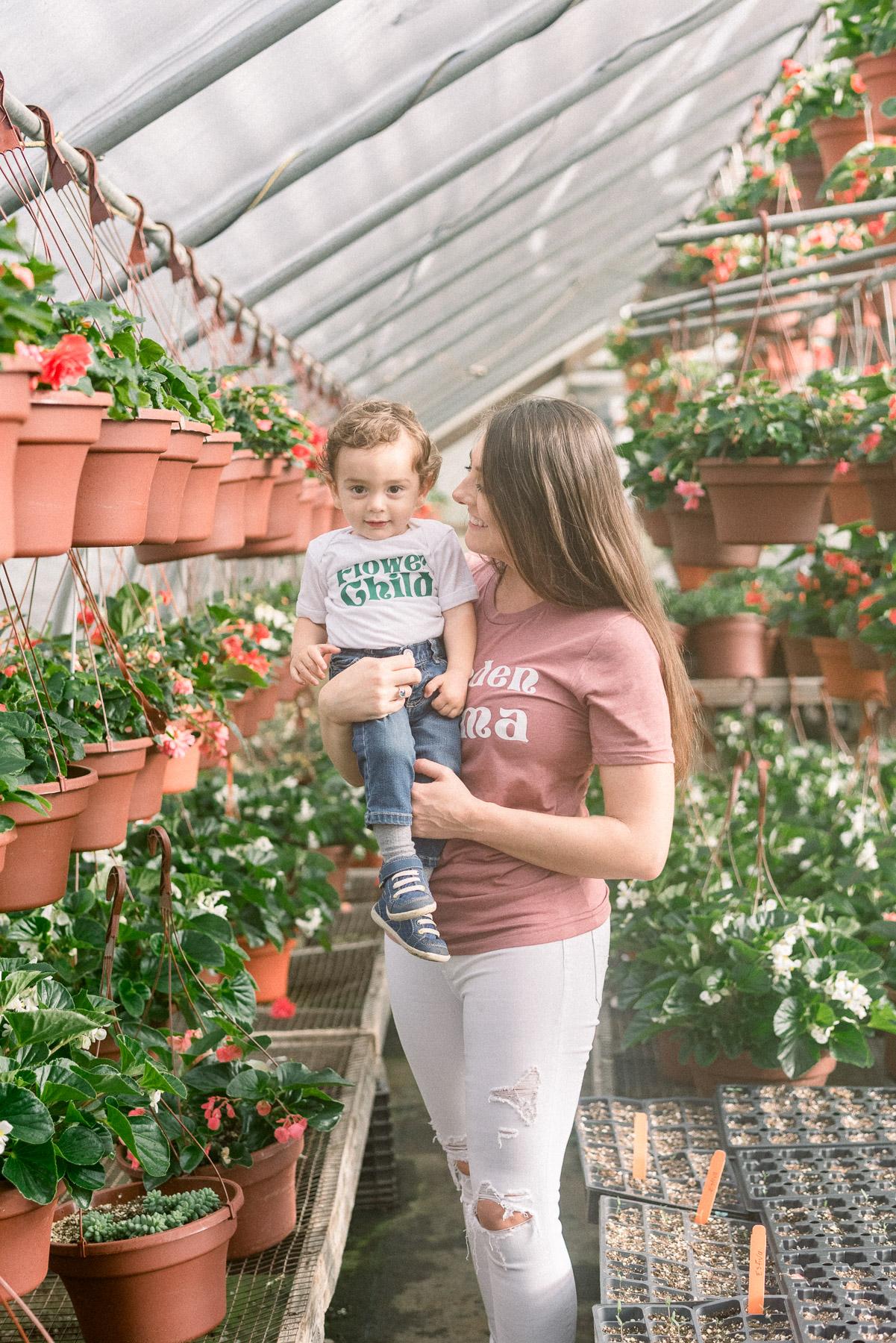 Greenhouse Portrait on Farm
