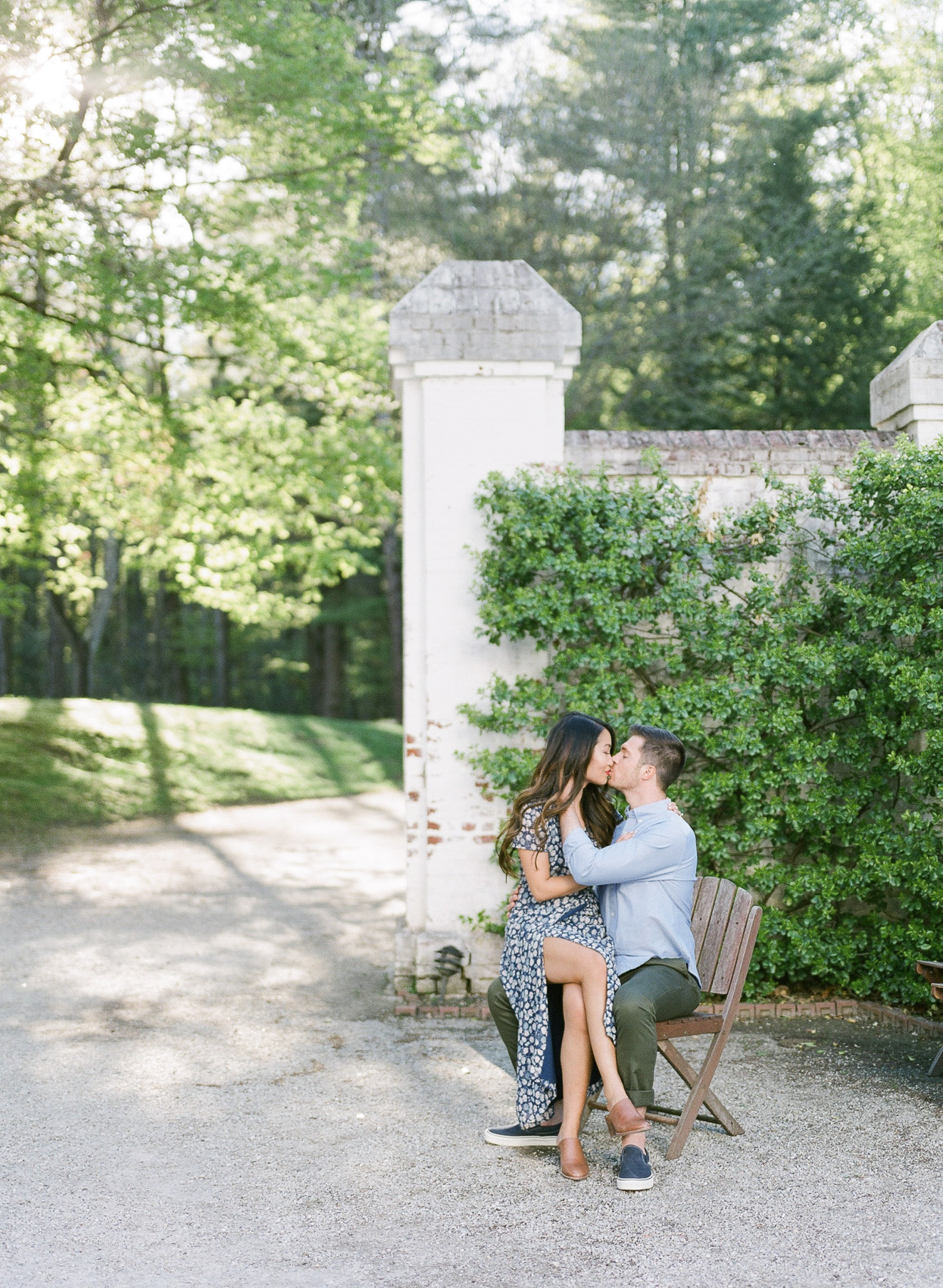 The Mount Lenox MA Engagement Photos