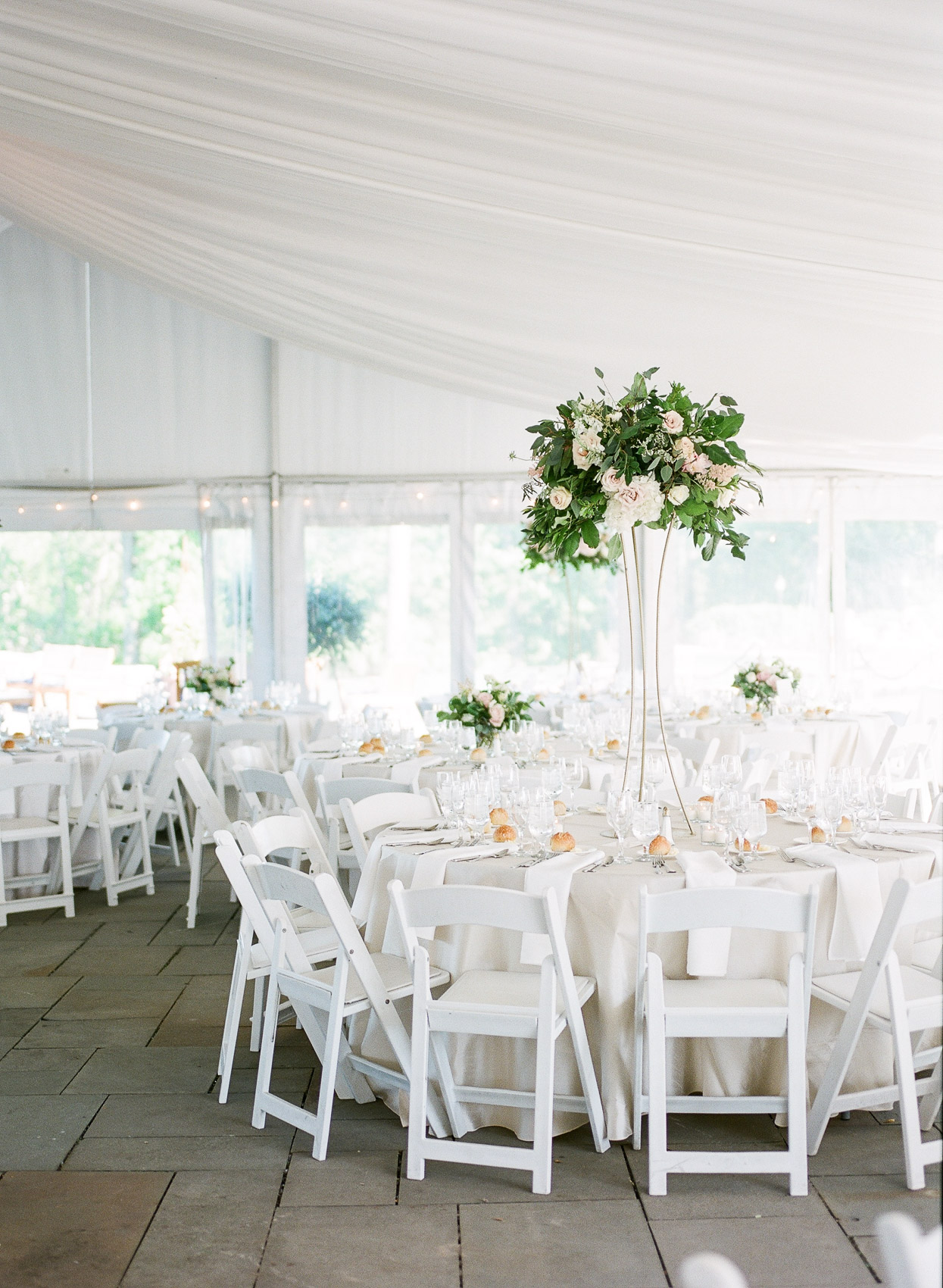 Saratoga National Tented Wedding Reception