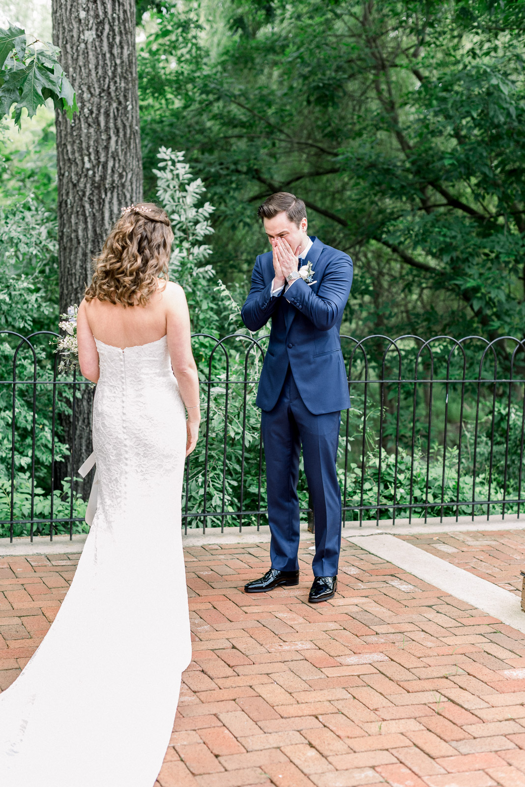 First look at Hotel du Village wedding in New Hope PA
