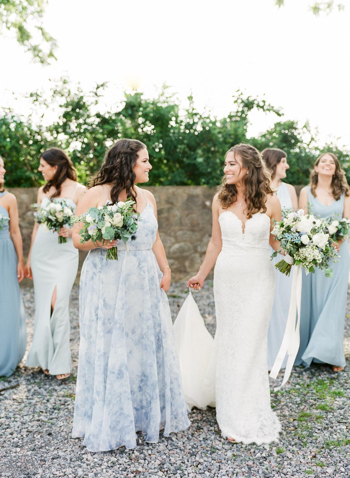 Blue Jenny Yoo Bridesmaids