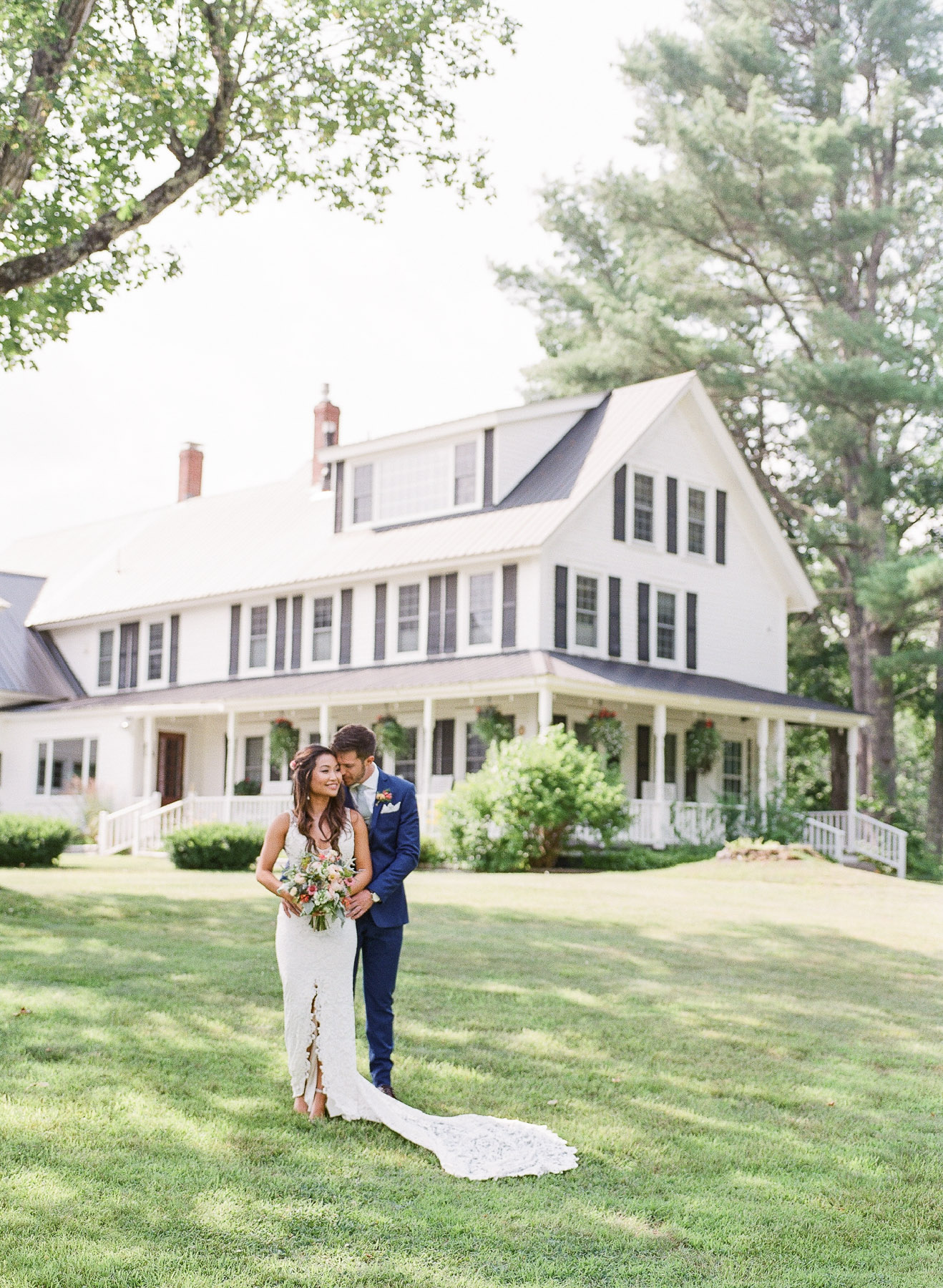 Bear Mountain Inn Waterford Maine Wedding
