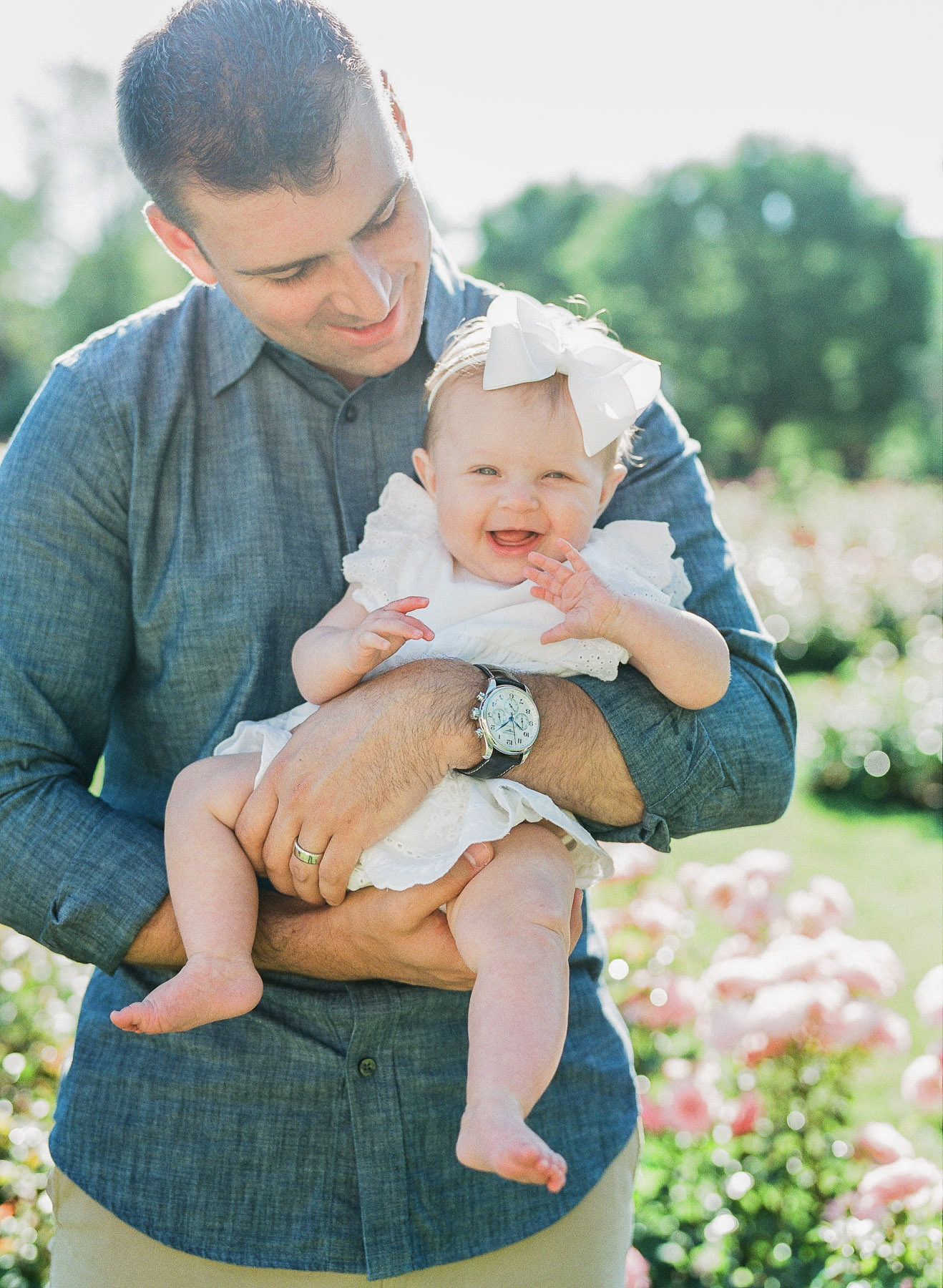 Schenectady Rose Garden NY Family Photographer