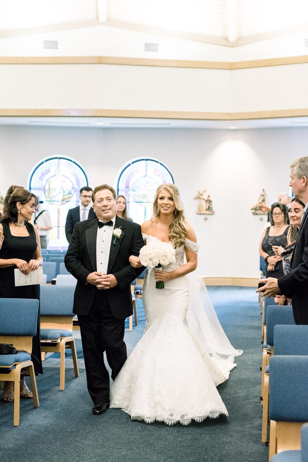 Wedding at Fairfield University Chapel