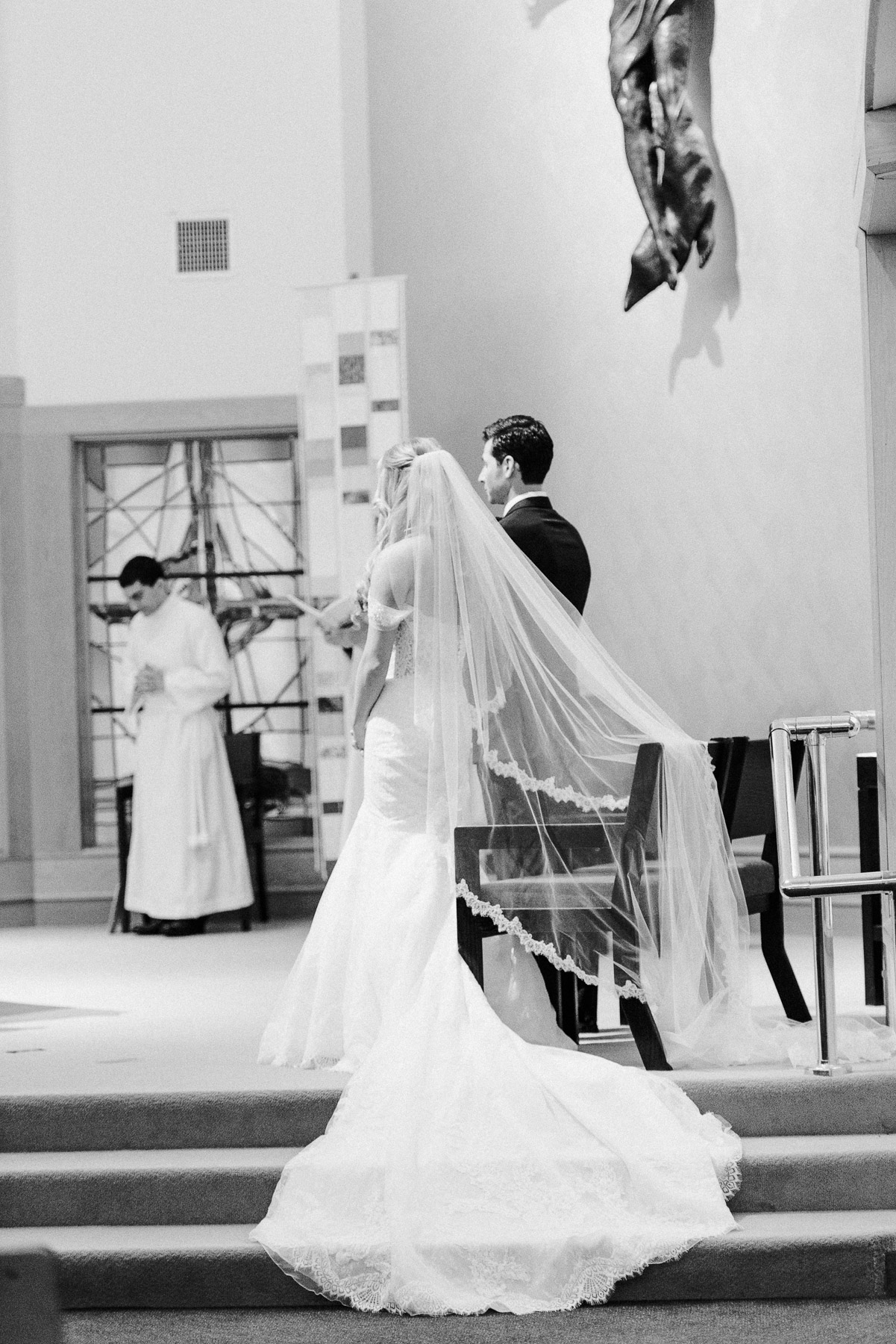 CT Wedding Photographer Fairfield University Wedding Chapel