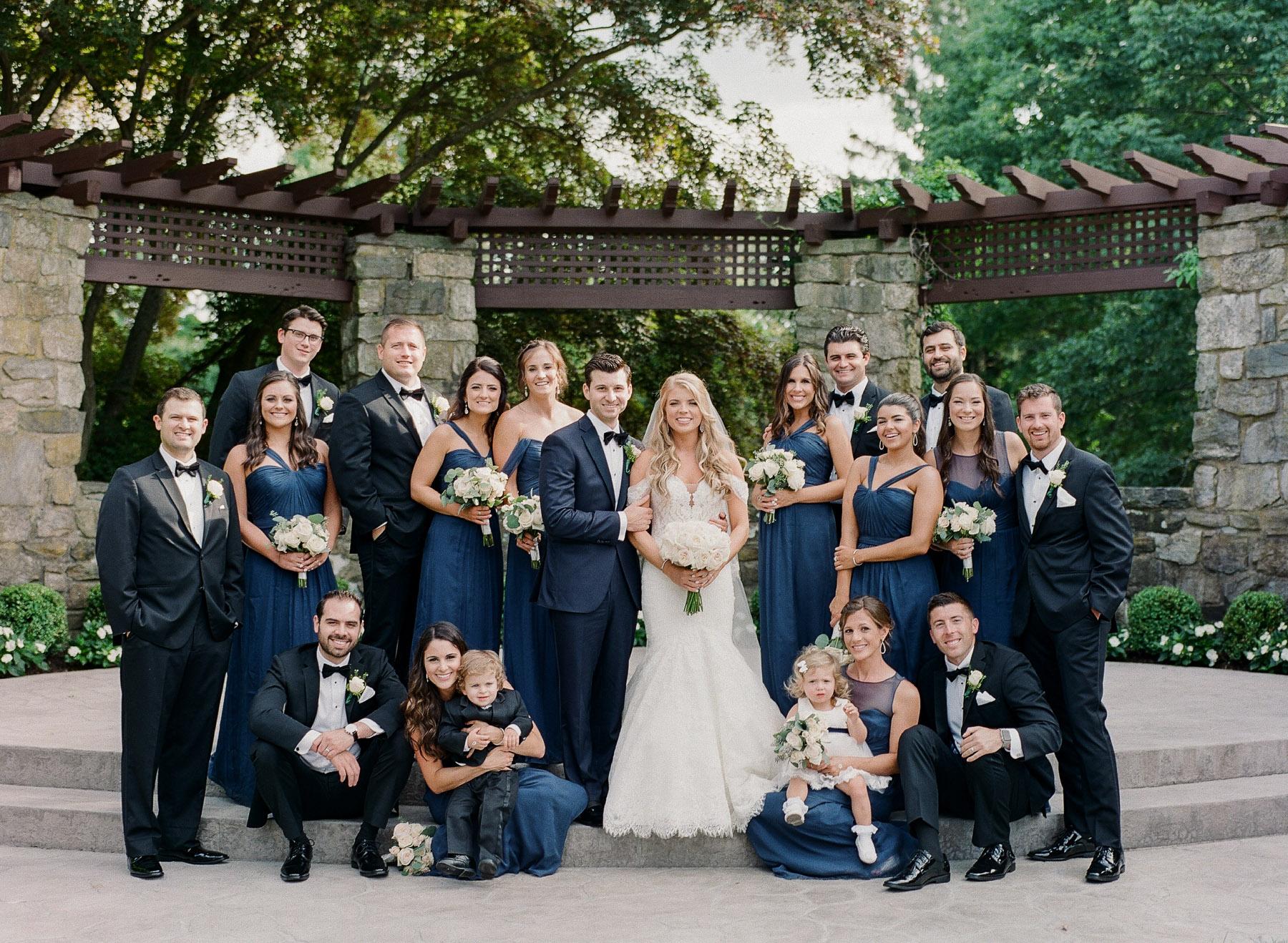 Le Chateau Bridal Party Photo