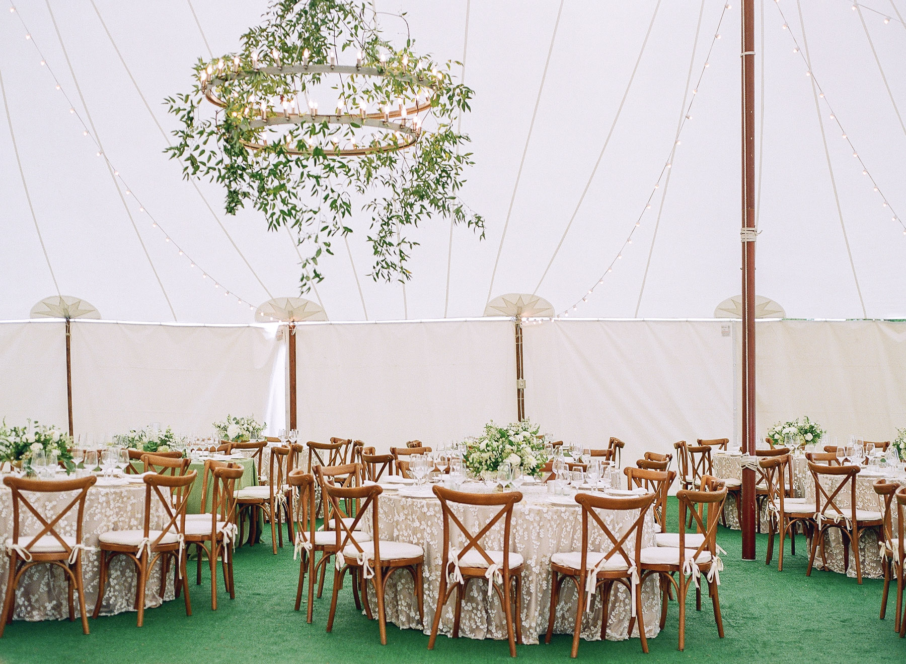 Tent inspiration Private island wedding in upstate ny