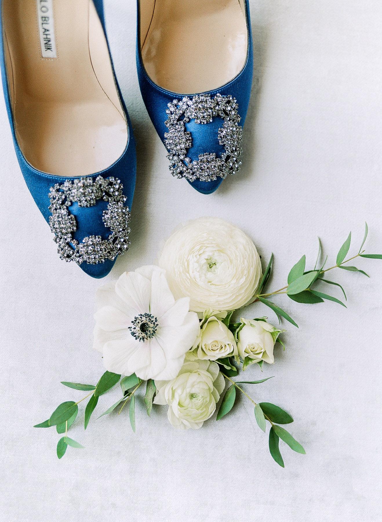 Manolo Blahnik Wedding Shoes