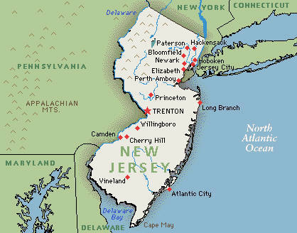 6. New Jersey