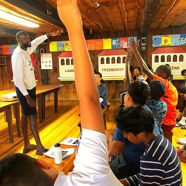Our CEO had a blast leading a session on personal finance for @lifeserveyouth annual summer tennis camp. What a great group of students. Can't wait until next year!  #financialliteracy #personalfinance #moneyskills #youth #highschool #education #lifeskills #nyc #tennis
