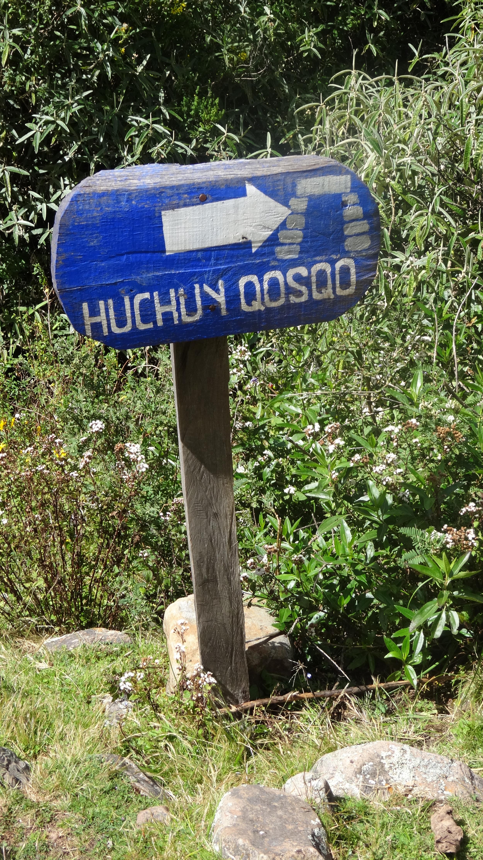 """""""Little Cusco,"""" old Inca ruins."""