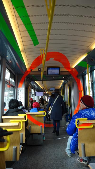 Those beautiful trolleys!