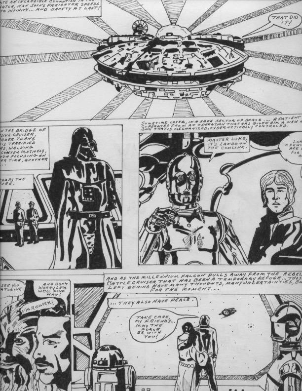 Empire Strikes Back - Final Panel