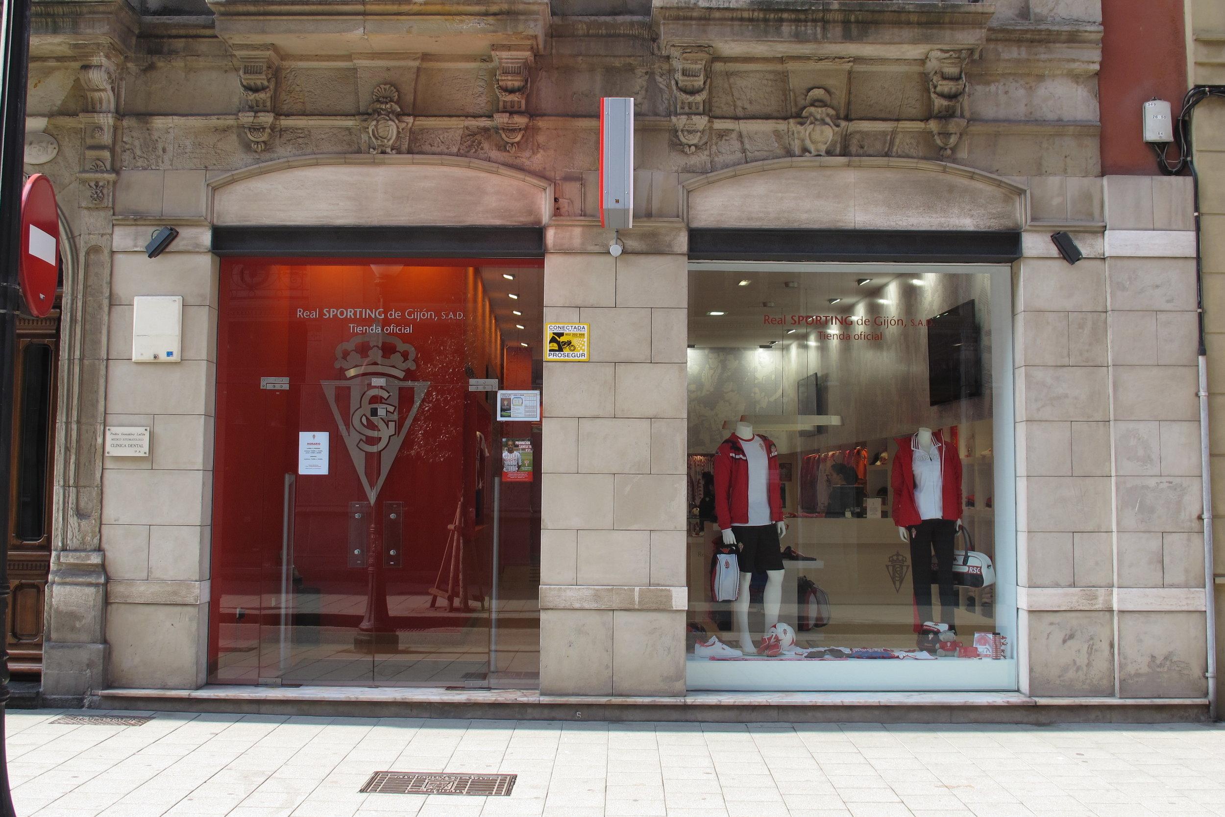 Tienda Oficial Real Sporting de Gijón