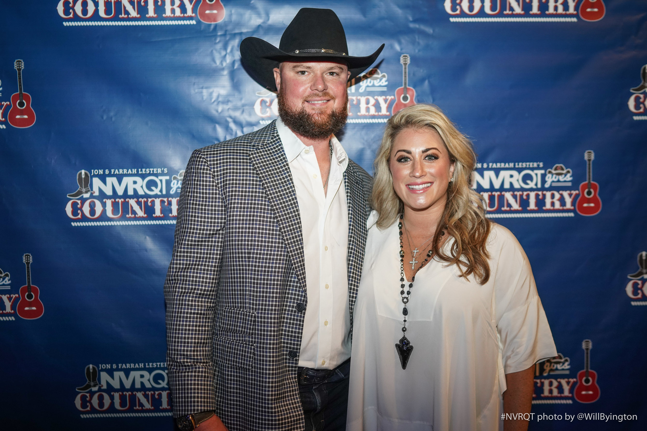 2019 NVRQT goes Country - The 2019 NVRQT goes Country Event was an energetic display of support for Jon and Farrah Lester and the Pediatric Cancer Research Foundation. Teammates and friends showed up to enjoy the party with amazing food and entertainment as well as special one of a kind auction items! Country Headliner, Dustin Lynch capped the evening off with a ton of down home music and fun.