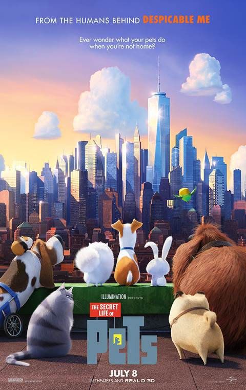 """Secret Life of Pets"" - Foley Editor"