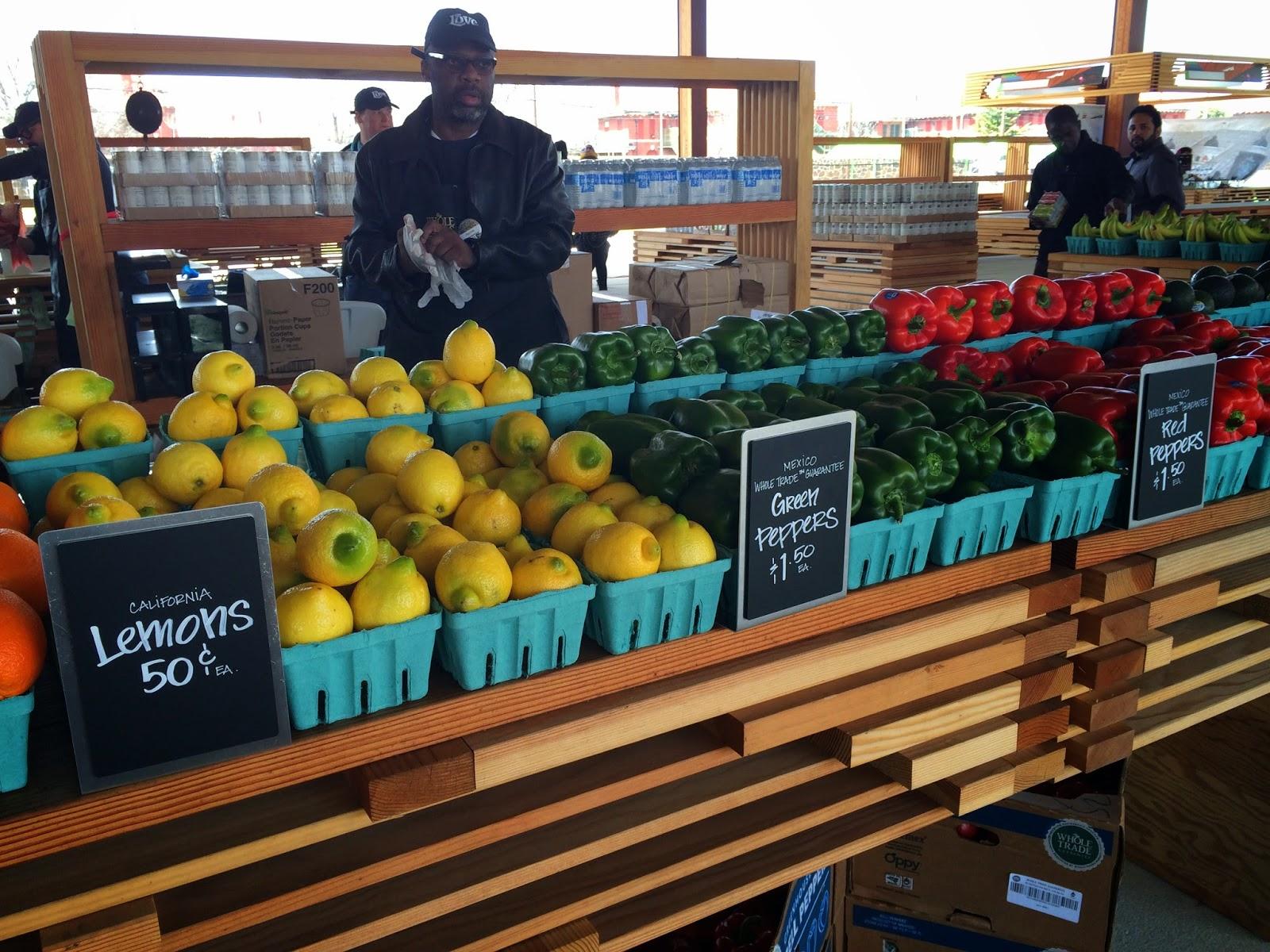 Whole Foods pop-up at Saint Elizabeths in Washington, DC