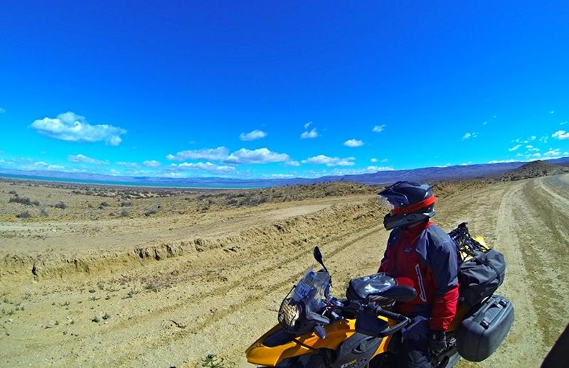 Lago Argentino, 30 km north of El Calafate