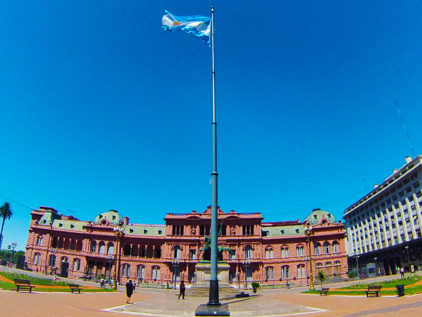 La Casa Rosada: Argentina's White House...only you won't get taken out by snipers if you get within 1000 yards of it