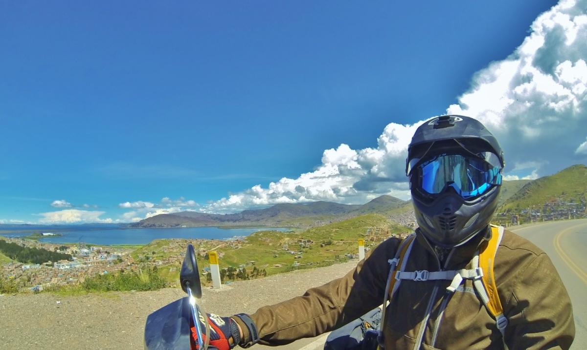 Puno, Perú, on the shores of Lago Titicaca