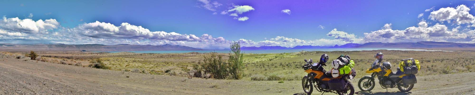 Panoramic of Lago Argentino