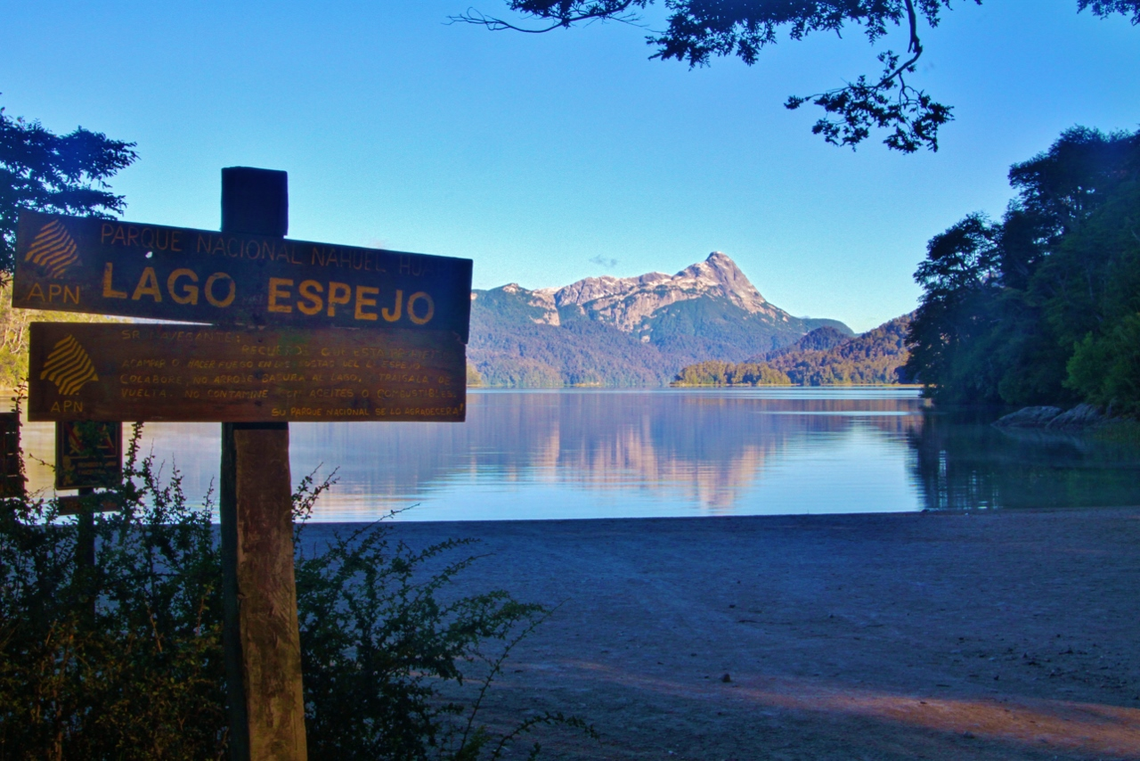 Lago Espejo (Mirror Lake), Parque Nacional Nahuel Huapi, Argentina