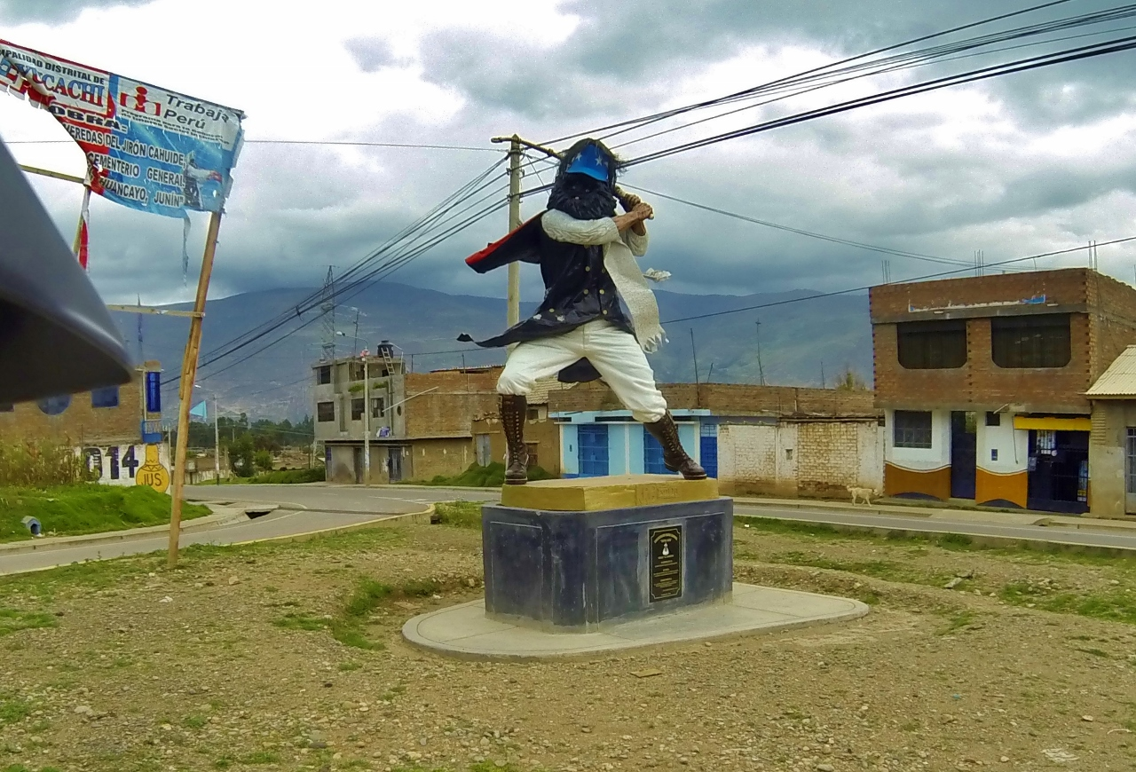 Couldn't make sense of this statue in Huancayo