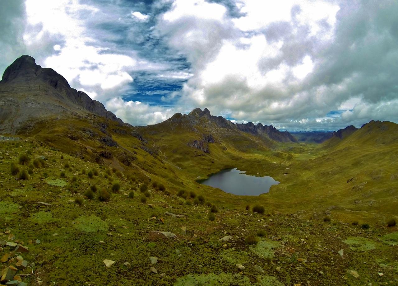 Unknown lagoon, north of Huallanca