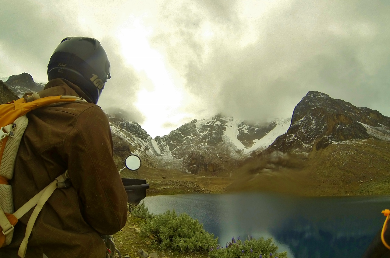 Lago Belaúnde, Parque Nacional Huascarán