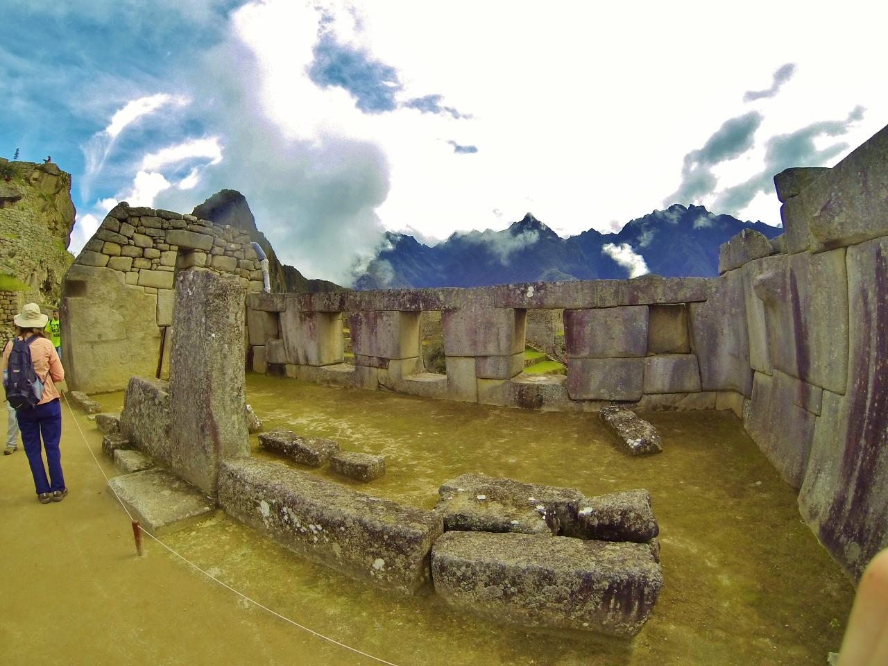 El Templo de las Tres Ventanas
