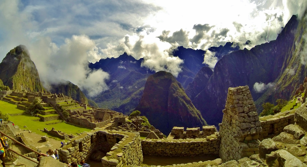 Inca engineering prowess did not preclude their reverence for nature.  The existence of numerous temples in the small city is testament to how sacred they considered the mountains to be