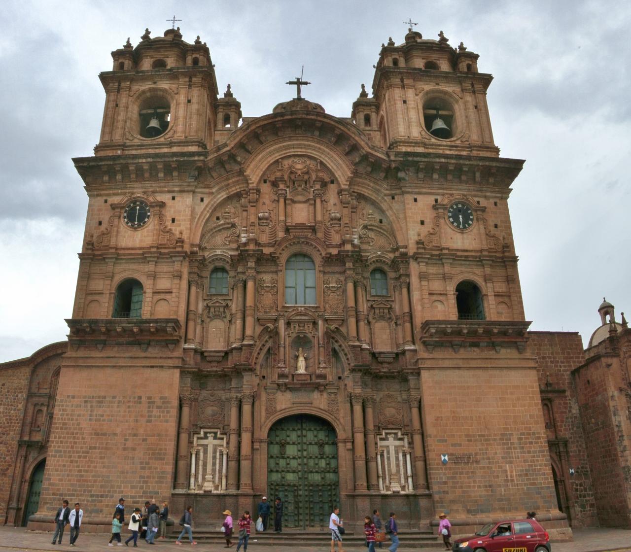 Iglesia de la Compañía de Jesus, built by the Jesuits in 1576