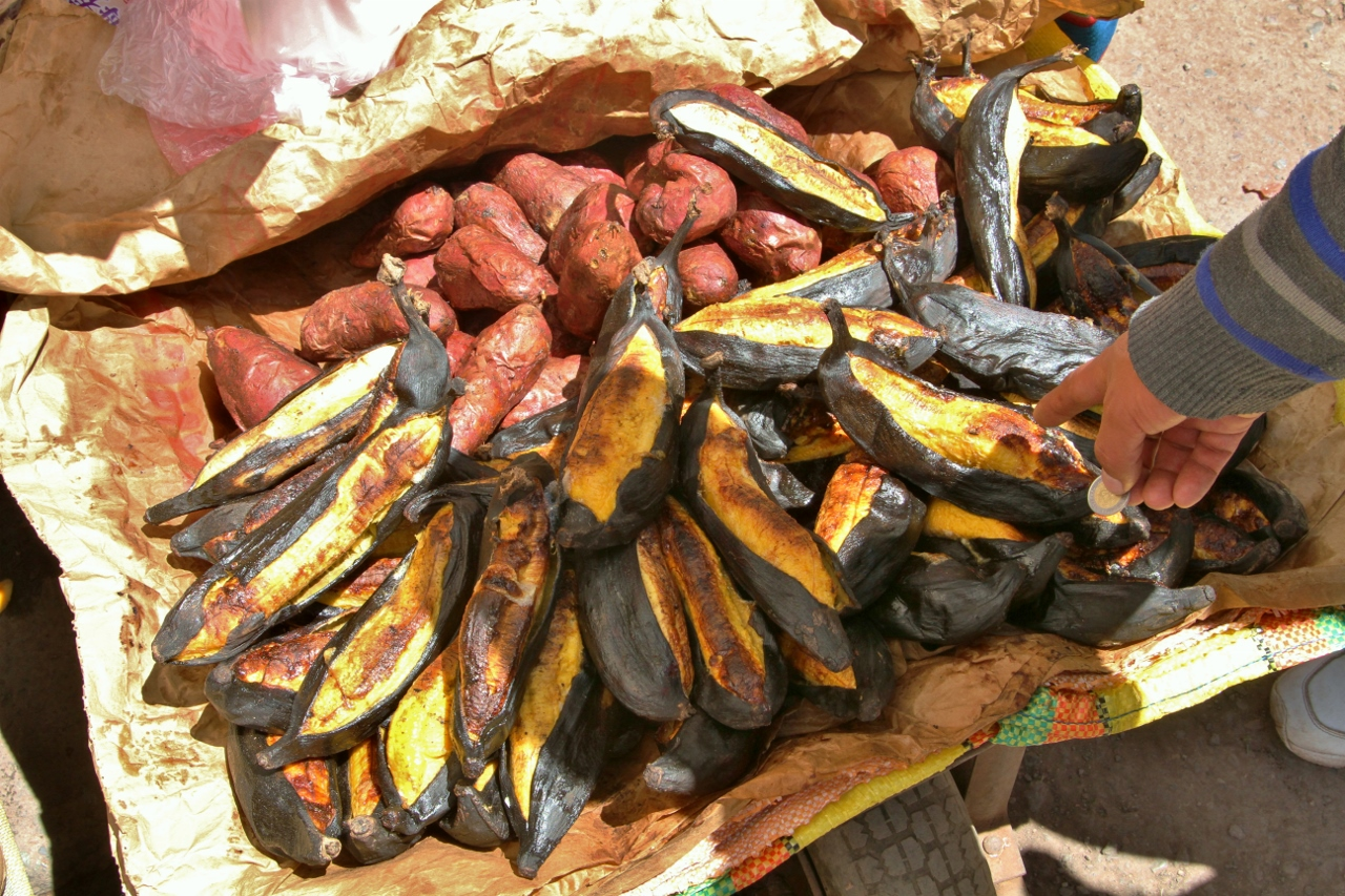 Grilled plantains = yes