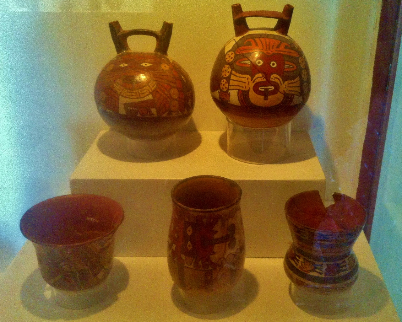 Pottery from nearly every human civilization in Perú's recorded human history