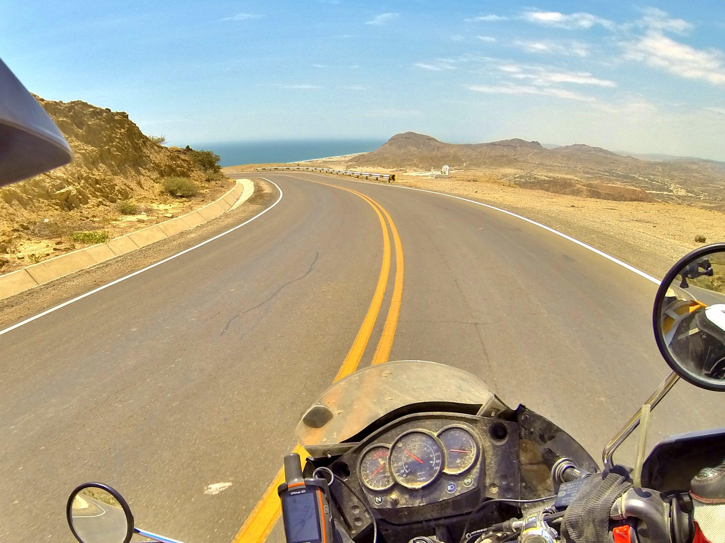 Ocean up ahead