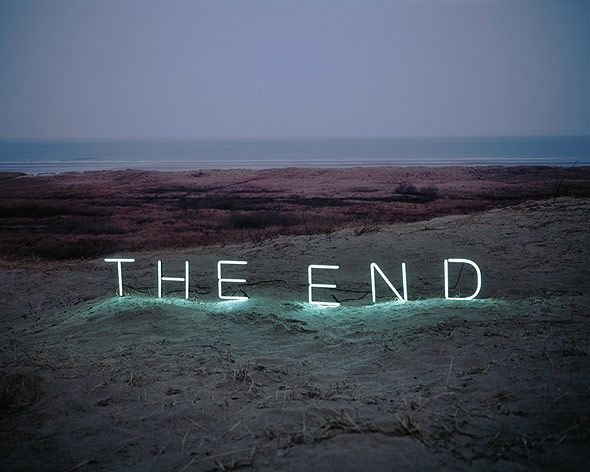 I hate endings, but I love coming to the end.