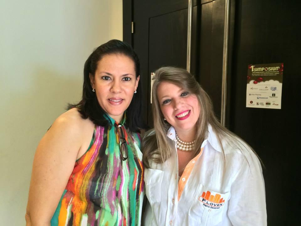 Izquierda: María Teresa Alba, Gerente de Producto, Líneas  Medios de Contraste  y  Nefrología  Pharmatech. Para ver el album completo de fotos visitanos en  Facebook/Pharmatech Dominicana
