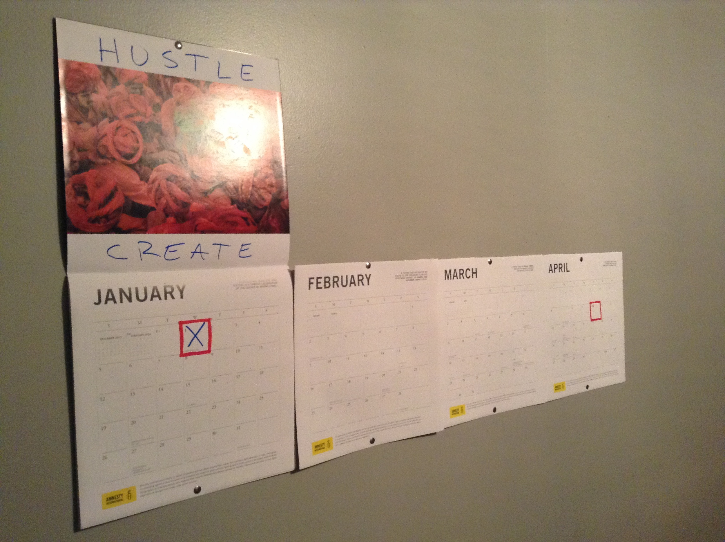My 100 Days of Hustle tracking system